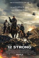 12 Strong - Theatrical poster (xs thumbnail)