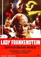La figlia di Frankenstein - Danish Movie Poster (xs thumbnail)
