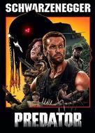 Predator - Slovak DVD cover (xs thumbnail)