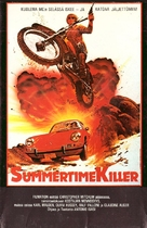 Un verano para matar - Finnish VHS movie cover (xs thumbnail)