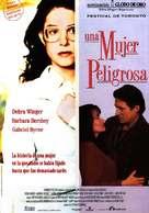 A Dangerous Woman - Spanish Movie Poster (xs thumbnail)