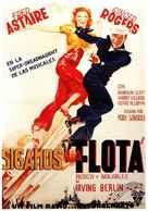 Follow the Fleet - Spanish Movie Poster (xs thumbnail)