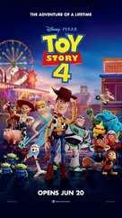 Toy Story 4 - Singaporean Movie Poster (xs thumbnail)
