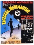 Faubourg Montmartre - French Movie Poster (xs thumbnail)