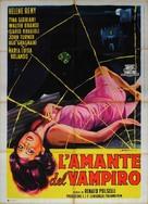 L'amante del vampiro - Italian Movie Poster (xs thumbnail)