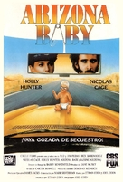 Raising Arizona - Spanish Movie Cover (xs thumbnail)