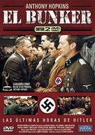 The Bunker - Spanish DVD movie cover (xs thumbnail)