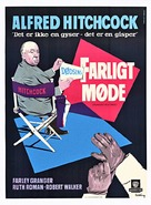Strangers on a Train - Danish Movie Poster (xs thumbnail)