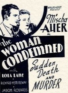 The Woman Condemned - Movie Poster (xs thumbnail)