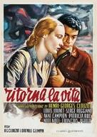 Retour à la vie - Italian DVD movie cover (xs thumbnail)