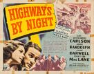 Highways by Night - Movie Poster (xs thumbnail)