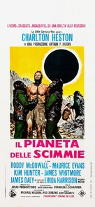Planet of the Apes - Italian Theatrical poster (xs thumbnail)