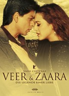 Veer-Zaara - German Movie Cover (xs thumbnail)