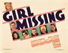 Girl Missing - Movie Poster (xs thumbnail)