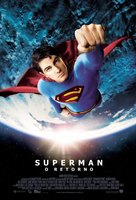 Superman Returns - Brazilian Movie Poster (xs thumbnail)