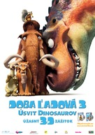 Ice Age: Dawn of the Dinosaurs - Slovak Movie Poster (xs thumbnail)