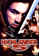 Highlander: The Source - Czech Movie Cover (xs thumbnail)