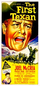 The First Texan - Australian Movie Poster (xs thumbnail)