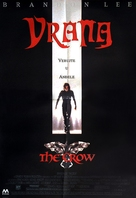 The Crow - Serbian Movie Poster (xs thumbnail)