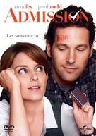 Admission - British DVD movie cover (xs thumbnail)