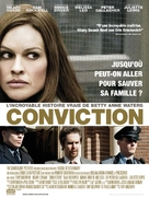 Conviction - French Movie Poster (xs thumbnail)