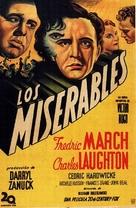 Les misérables - Spanish Movie Poster (xs thumbnail)