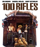 100 Rifles - Blu-Ray movie cover (xs thumbnail)
