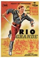 Rio Grande - Spanish Movie Poster (xs thumbnail)
