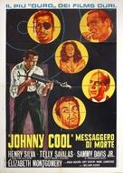 Johnny Cool - Italian Movie Poster (xs thumbnail)