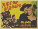 Ride on Vaquero - Movie Poster (xs thumbnail)
