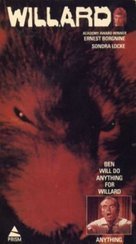 Willard - VHS cover (xs thumbnail)