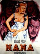 Nana - French Movie Poster (xs thumbnail)