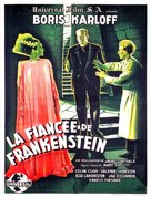 Bride of Frankenstein - French Movie Poster (xs thumbnail)