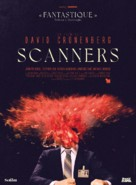 Scanners - French Re-release movie poster (xs thumbnail)