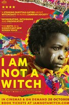 I Am Not a Witch - British Movie Poster (xs thumbnail)