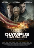 Olympus Has Fallen - German Movie Poster (xs thumbnail)