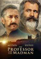 The Professor and the Madman - Irish Movie Cover (xs thumbnail)