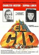 El Cid - German Movie Poster (xs thumbnail)