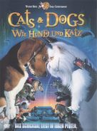 Cats & Dogs - German DVD movie cover (xs thumbnail)