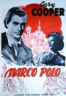 The Adventures of Marco Polo - Swedish Movie Poster (xs thumbnail)