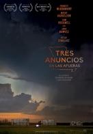Three Billboards Outside Ebbing, Missouri - Spanish Movie Poster (xs thumbnail)