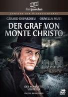 """""""Le comte de Monte Cristo"""" - German DVD cover (xs thumbnail)"""