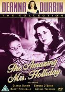 The Amazing Mrs. Holliday - British DVD movie cover (xs thumbnail)