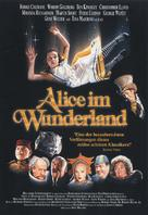 Alice in Wonderland - German Movie Poster (xs thumbnail)