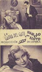 The Cat's-Paw - Spanish Movie Poster (xs thumbnail)