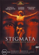 Stigmata - Australian Movie Cover (xs thumbnail)