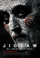 Jigsaw - Chilean Movie Poster (xs thumbnail)