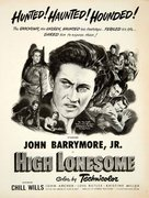 High Lonesome - Movie Poster (xs thumbnail)