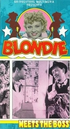 Blondie Meets the Boss - VHS cover (xs thumbnail)