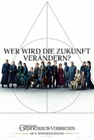 Fantastic Beasts: The Crimes of Grindelwald - German Movie Poster (xs thumbnail)